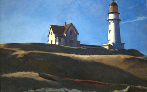 Picture 1927, Edward Hopper, Lighthouse HIll