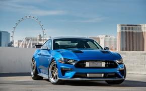 Wallpaper Ford, 2018, Mustang GT, Bojix Design, SEMA 2018