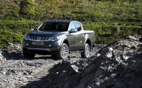 Picture vegetation, Mitsubishi, pickup, breed, L200, 2015