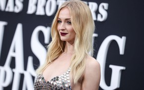 Picture background, makeup, actress, hairstyle, blonde, beauty, photoshoot, background, beauty, blonde, actress, makeup, Sophie Turner, hairstyle, …