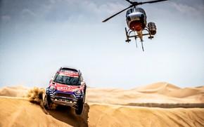 Picture Sand, Auto, Mini, Sport, Desert, Machine, Helicopter, Race, Car, Rally, Dakar, Dakar, SUV, Rally, Dune, …