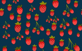 Picture berries, background, texture, strawberry, background, pattern, Strawberries