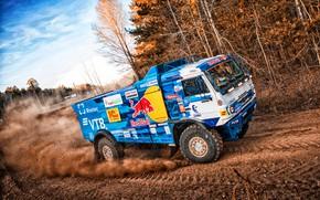 Picture Machine, Truck, Master, Russia, Kamaz, Rally, Dakar, KAMAZ-master, Dakar, Rally, KAMAZ, The roads, Best, RedBull, …