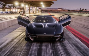 Picture Aston Martin, racing track, Vulcan