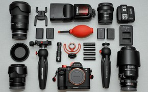 Picture camera, accessories, Nothing