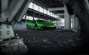 Picture Auto, Lamborghini, Green, Machine, Supercar, Green, Sports car, Huracan, Lamborghini Huracan, Transport & Vehicles, Sergey …