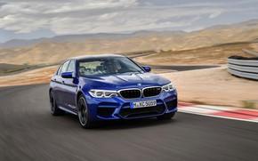 Picture track, BMW, sedan, BMW M5, 2017, M5, F90