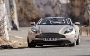 Picture Aston Martin, front view, 2018, Volante, DB11