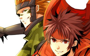Picture anime, guys, two, Sengoku Basara, The Era Of Unrest