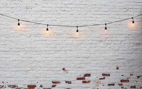 Picture background, lamp, wall