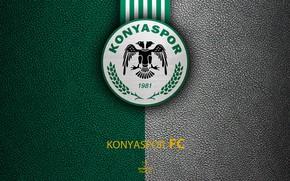 Picture wallpaper, sport, logo, football, Turkish Superlig, Konyaspor
