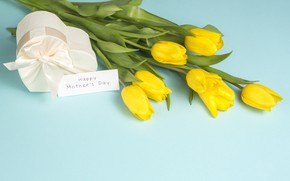 Picture gift, bouquet, Mother's day