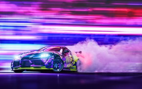 Picture Auto, Sport, Machine, Car, Render, Toyota Supra, Rendering, Drifting, Transport & Vehicles, Javier Oquendo, by …