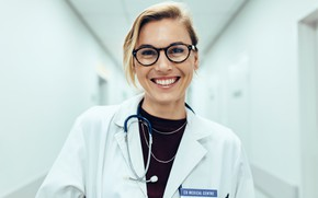 Picture smile, doctor, medicine