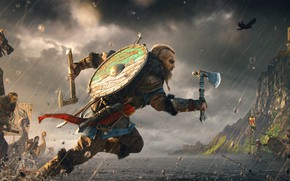 Picture Battle, Assassin's Creed, The Vikings, Assassin's Creed Valhalla, Eivor