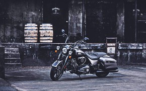 Picture Custom, Indian, Motorcycle, Indian Springfield Dark Horse, The Jack Daniel's Limited Edition