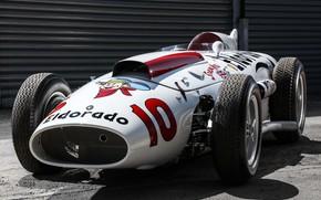 """Picture Maserati, Classic car, 1958, Sports car, Indianapolis 500, Indianapolis 500-Mile Race, Maserati 420/M/58 """"Eldorado"""""""