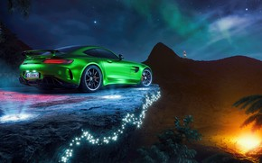Picture Mercedes-Benz, supercar, AMG, GT R