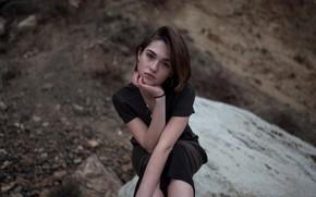 Picture look, Aleks Five, shore, girl, photo