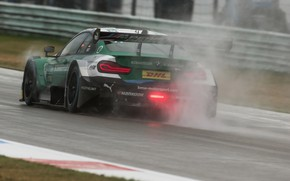 Picture coupe, BMW, back, dampness, M4 DTM