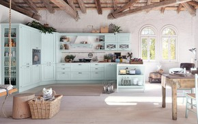 Picture style, interior, kitchen, dining room