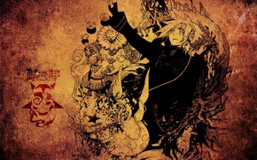 Picture background, anime, guy, D. Gray-man