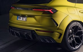 Picture Lamborghini, headlight, the rear part, crossover, Urus, Novitec, 2019