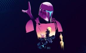 Picture Star Wars, fantasy, minimalism, weapon, science fiction, sci-fi, cyberpunk, stormtrooper, digital art, cyber, artwork, fantasy …