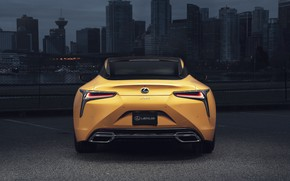 Picture Lexus, rear view, LC 500, 2019, Inspiration Series