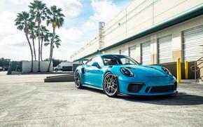 Picture Porsche, Blue, 991, VAG, GT2RS