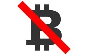 Picture logo, red, logo, white, black, line, fon, bitcoin, bitcoin, btc