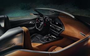 Picture BMW, Roadster, salon, 2017, Z4 Concept