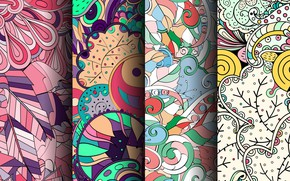 Picture background, pattern, colorful, patterns, seamless