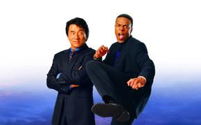 Picture Jackie Chan, partners, Chris Tucker, Rush hour 2, Rush Hour 2