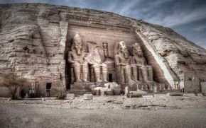Picture Abu Simbel, Nubia, Egypt, Asuan