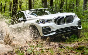 Picture the roads, 2018, BMW X5, crossover, XDrive40i