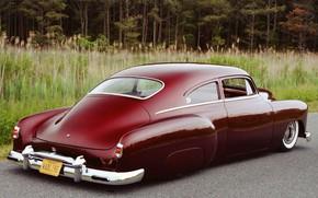 Picture Chevrolet, Hot Rod, Custom, Low, Vehicle, Fleetline