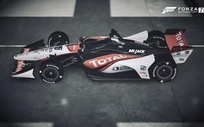 Picture HDR, Honda, Game, FM7, UHD, Forza Motorsport 7, Xbox One X, Indycar, Honda Indycar