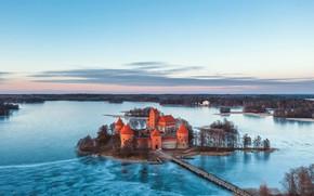 Picture nature, Trakai, Lithuania