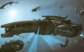 Picture Space, Ship, Fantasy, Space, Art, Spaceship, Fiction, Spaceship, The wreckage, Ship, Vehicles, Science Fiction, Spacecraft, …