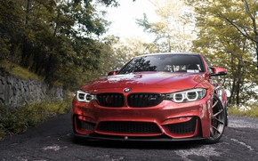 Picture BMW, Angel, RED, F80, Sight, LED