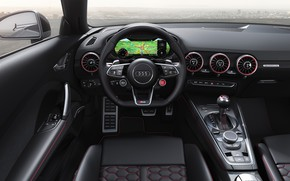 Picture Audi, Roadster, salon, TT RS, 2019
