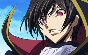 Picture anger, guy, Code Geass, Code Geass, Lilus