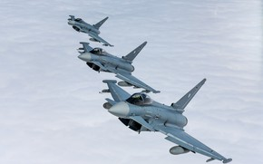 Picture Air force, multi-role fighter, Typhoon, Eurofighter