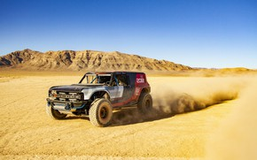 Picture sand, the sky, mountains, Ford, 2019, Bronco R Race Prototype