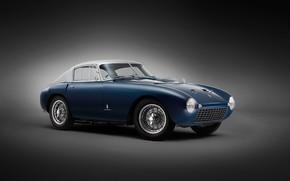 Picture auto, retro, Ferrari, Berlinetta, 166 MM