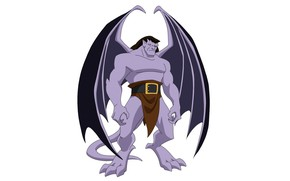 Picture wings, being, wings, the animated series, Goliath, TV series, Goliath, animated series, gargoyles, Gargoyles