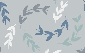 Picture grey, background, texture, background, pattern, Wallpaper, Leaves