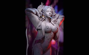Picture Girl, Chest, Girl, Hair, Jacket, Sexy, Breast, Succubus, Sexy, Beauty, Sexy, Beautiful, Rendering, Rendering, Succubus, …
