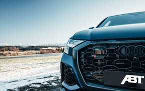 Picture Audi, headlight, Germany, crossover, ABBOT, 2020, RS Q8
